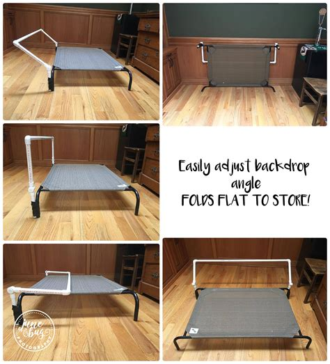 diy newborn poser  backdrop stand mill creek newborn