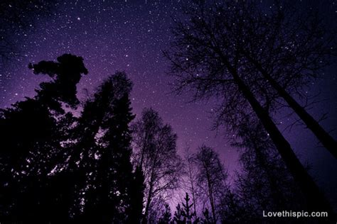 Purple Night Sky Pictures, Photos, And Images For Facebook