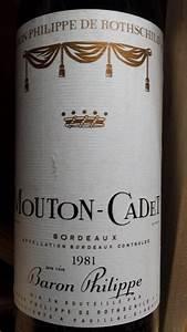 1981 Mouton Cadet  France  Bordeaux