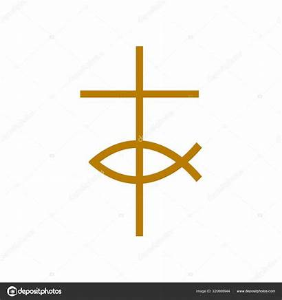 Cross Jesus Christ Symbols Christian Fish Symbol
