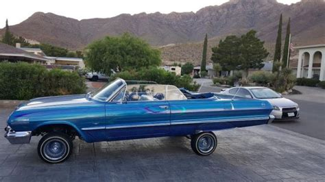 1963 Impala Convertible Lowrider For Sale