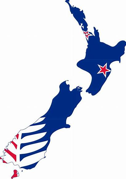 Zealand Map Flag Nz Clipart Island Transparent