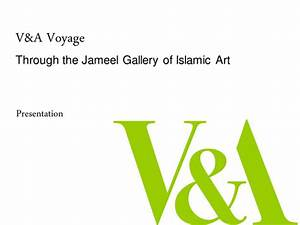 Introduction, To, Islamic, Art, And, Design, At, The, V, U0026a