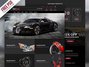 Auto Web : car accessories ecommerce web template free psd ~ Gottalentnigeria.com Avis de Voitures