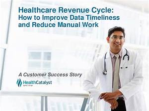 Healthcare Revenue Cycle  How To Improve Data Timeliness