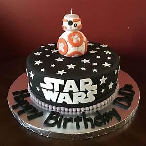 Star Wars BB 8 Birthday Cake Backen Geburtstagskuchen
