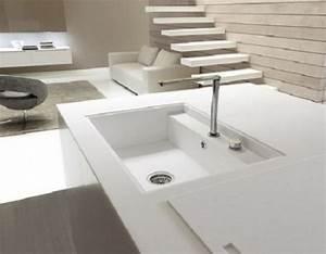 Weiße Granit Spüle : coole k chen sp le mit unterschrank halten sie die k che ~ Michelbontemps.com Haus und Dekorationen