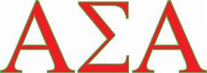 alpha sigma alpha white county panhellenic With sigma alpha letters