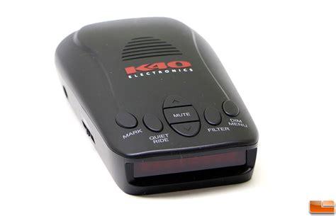 k40 rls2 portable radar detector review legit reviews