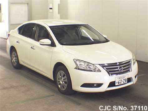 nissan bluebird 2014 nissan bluebird sylphy white for sale stock no
