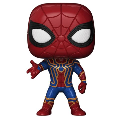 figurine pop iron spider marvel avengers infinity war