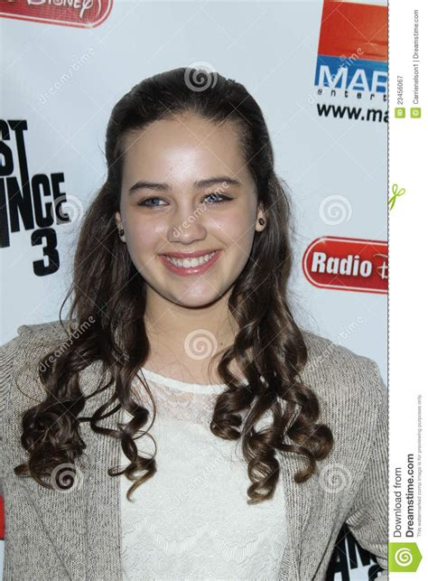 Mary Mouser Editorial Photography - Image: 23456067