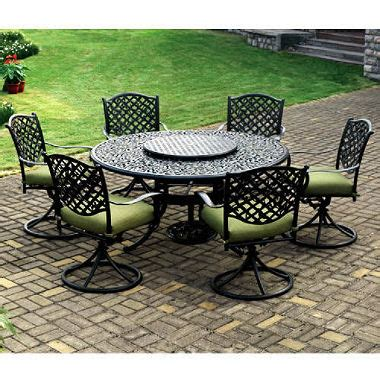 vineyard outdoor dining set 9 pc sam s club