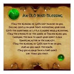 An Old Irish Blessing Prayer