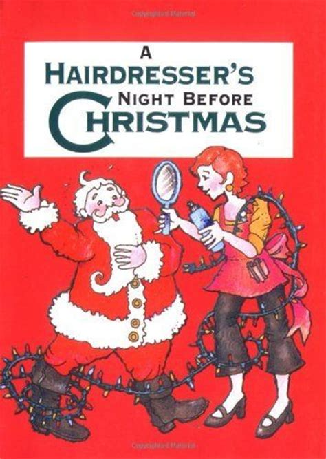 hairdressers night  christmas cute christmas present   favorite hair stylist