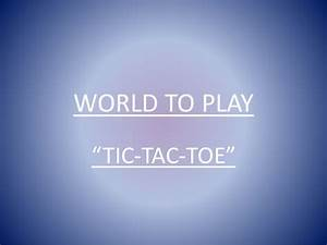 Tic Tac Toe Spiel : how to play tic tac toe ~ Orissabook.com Haus und Dekorationen