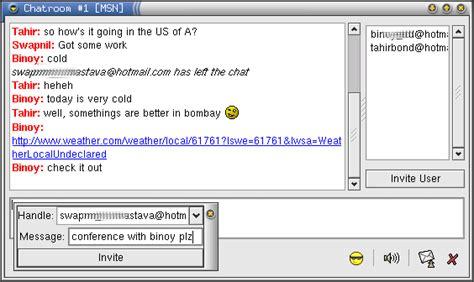 ayttm chatting