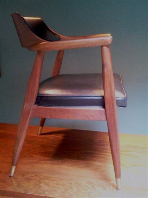 mid century modern desk chair mid century modern walnut arm chairs at epoch