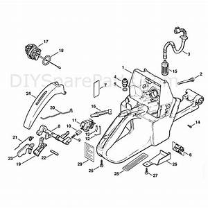 Stihl Ms 440 Chainsaw Ms440 N Parts Diagram