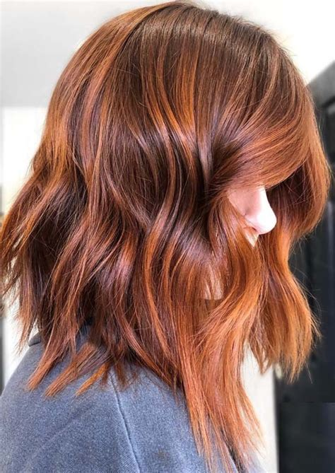 fantastic copper red hair color shades