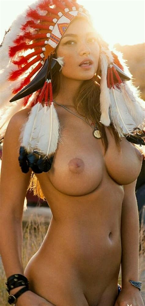 A Hot Nude Native American Costume Nudeshots