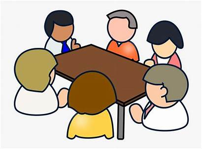 Clipart Meeting Clip Transparent Meetings Diverse Conference