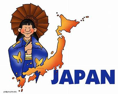 Japan Clip Japanese Clipart Cliparts Cartoon Asia