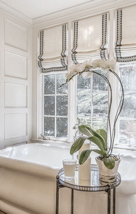 23 Bathrooms With Roman Shades Messagenote