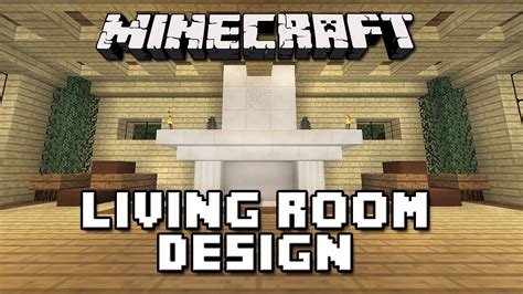 Minecraft Modern Floor Designs by Minecraft Tutorial How To Build A House Part 11 Living