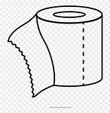 Papel Colorear Dibujo Higienico Coloring Toilet Paper Hoja Dinero Bolsa Ultra Template Pngkey sketch template
