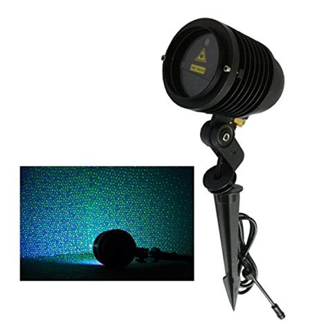 remote controllable rgb laser outdoor garden landscape