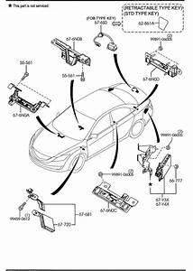 Mazda Mazda 6 Keyless Entry Set