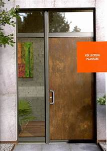 Porte Entrée Aluminium Rénovation : les portes d 39 entr e aluminium r novation et neuf ~ Edinachiropracticcenter.com Idées de Décoration