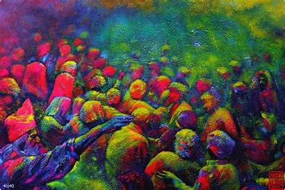 Festival Indian Holi Colors Animated Colours Livewallpapersfreedownload