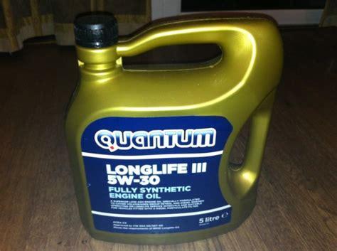 longlife öl 5w30 quantum longlife iii 5w30 fully synthetic engine 5l