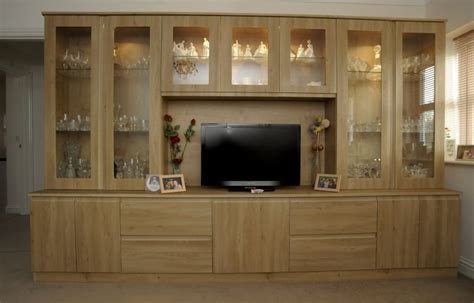 wooden cabinets for living fitted living room furniture in kent