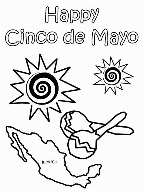 35 Free Printable Cinco de Mayo Coloring Pages