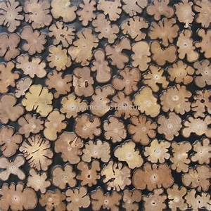 round design home decoration wooden wall panels - JH-S03