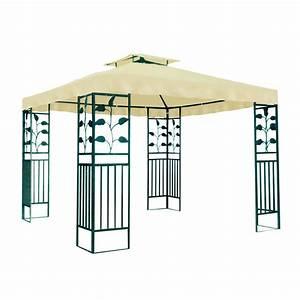 Gartenpavillon Metall 3x4 : metall gartenpavillon 3 x 3 m pavillon real von pavillon ~ A.2002-acura-tl-radio.info Haus und Dekorationen