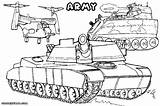 Army Coloring Pages Vehicles sketch template