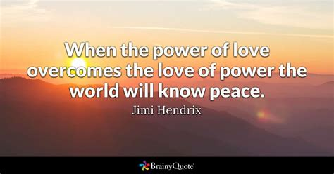 jimi hendrix   power  love overcomes  love