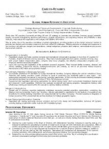 human resource resume summary the australian employment guide