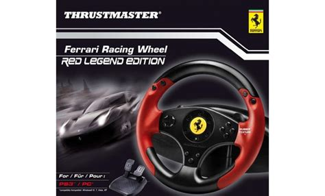 Windows 8, 7, vista, xp. Thrustmaster Ferrari Racing Wheel Red Legend İncelemesi ...