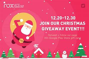 Come and join our Christmas GIVEAWAY event on both ...
