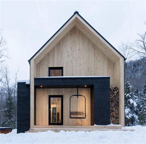 Moderne Häuser Schwarz by Holzhaus Holz Und Schwarz Inspiring Architecture