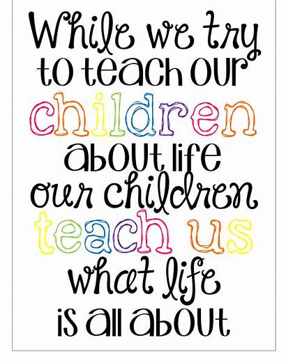 Preschool Quotes Teaching Childhood Early Teachers Education