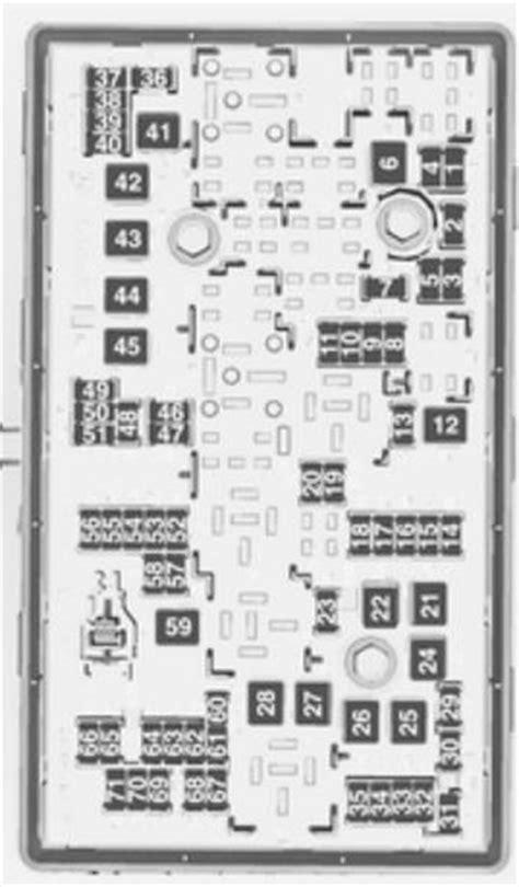 Opel Insignia (2012 - 2013) - fuse box diagram - Auto Genius
