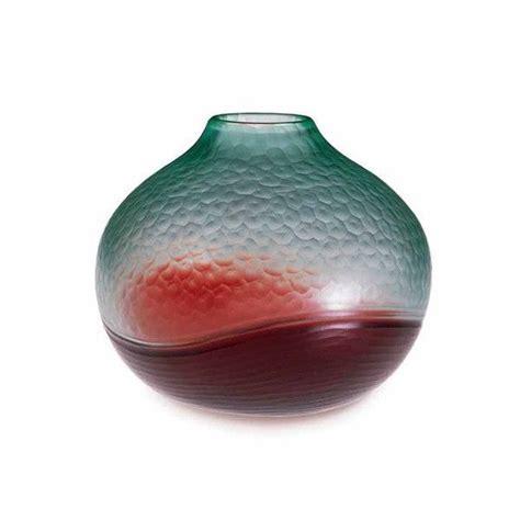 carlo vasi linea carlo scarpa collezione battuto bicolore vetro