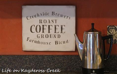 Diy Farmhouse Coffee Sign