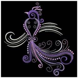 Neon Peacock Embroidery Designs Machine Embroidery